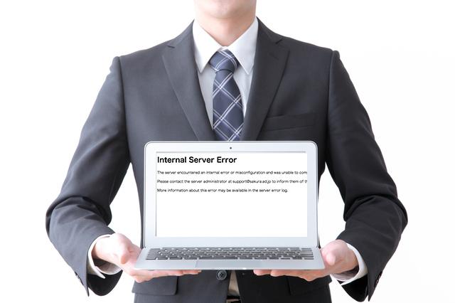 WordPressでパーマリンクを設定したらInternal Server Errorが出る